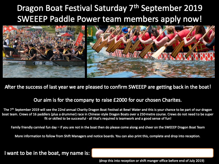 SWEEEP Dragon Boat 2019